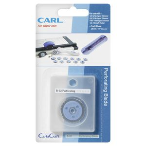 Carl B02 Perforated Blade Replacement for Trimmer