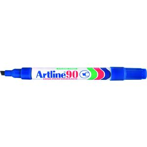 Artline 90 Permanent Marker Blue