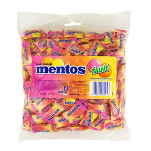 Mentos Fruit Individual Wrapped 200 Pack