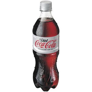 Diet Coca-Cola Bottle 600mL