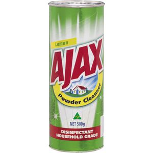 Ajax Powder Disinfectant Lemon 500g
