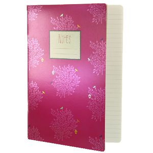 Go Stationery A4 Exercise Book Cerise Trees 56 Page