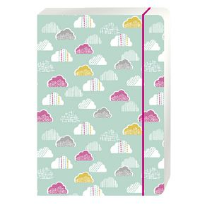 Go Stationery A4 Exercise Book Green Clouds 56 Page