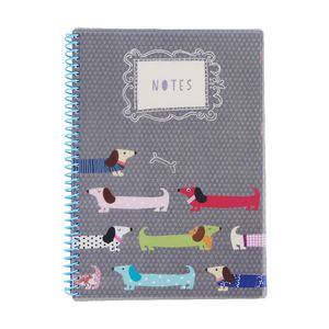 GO Stationery A4 Notebook Sausage Dogs