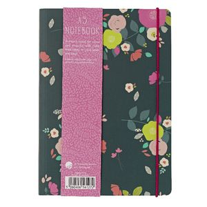 GO Stationery A5 Notebook Camden Floral 198 Page