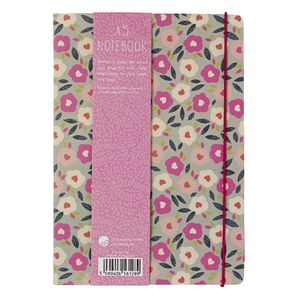 Go Stationery A5 Notebook Camden Floral Navy 198 Page