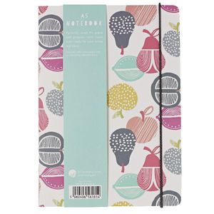 Go Stationery A5 Notebook Retro Coloured Orchard 198 Page