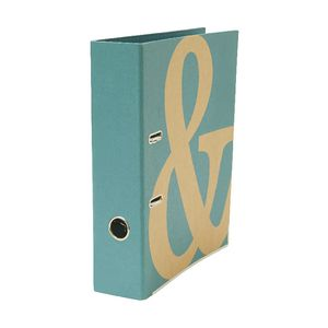 GO Stationery Kraft Lever Arch File Teal
