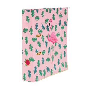 GO Stationery Lever Arch File FlaminGO Stationery