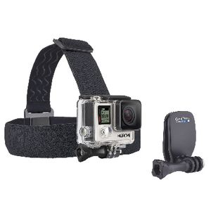 GoPro Headstrap and QuickClip Black