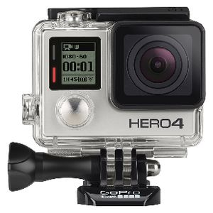 GoPro Hero4 Action Camera Silver Bundle