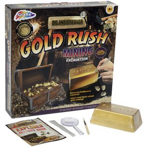 Graphix Dig 'n' Discover Excavation Kit Gold Rush