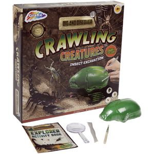 Graphix Dig 'n' Discover Excavation Kit Creatures