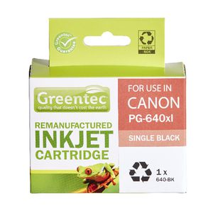 Greentec Alternate Canon PG640XL Ink Cartridge Black