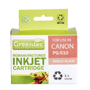 Greentec Alternate Canon PG510 Ink Cartridge Black