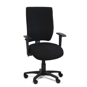 Gregory Scope High Back Chair with Arms Black