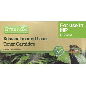 Greentec Recycled HP Toner Black CB540A