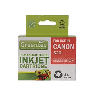 Greentec Alternate Canon PG520 Ink Cartridge Black