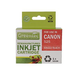 Greentec Alternate Canon 525 Ink Cartridge Black