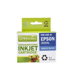 Greentec Epson 200XL Ink Cartridge Black