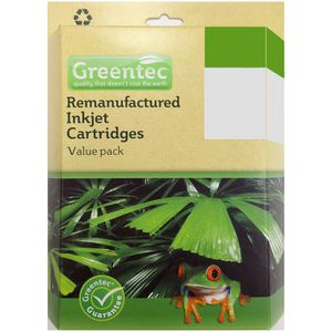 Greentec Epson 200XL Black and Colour 4 Ink Value Pack