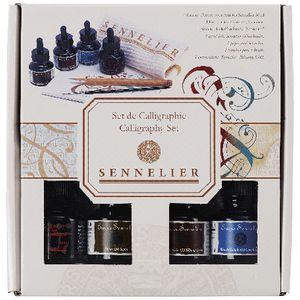 Sennelier Calligraphy Set with Pad and Brush