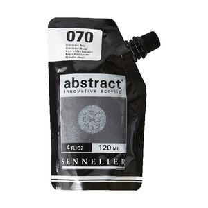 Sennelier Abstract Acrylic Iridescent Black 120 mL
