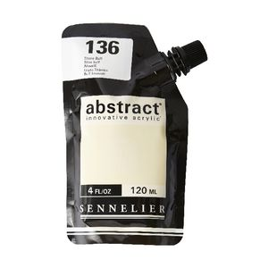 Sennelier Abstract Acrylic Satin Titan Buff 120 mL