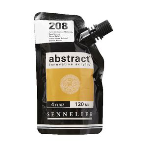 Sennelier Abstract Acrylic Satin Raw Sienna 120 mL