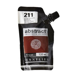 Sennelier Abstract Acrylic Satin Burnt Sienna 120 mL