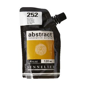 Sennelier Abstract Acrylic 120mL Yellow Ochre