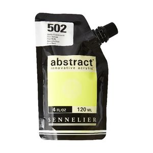 Sennelier Abstract Acrylic Fluorescent Yellow 120 mL