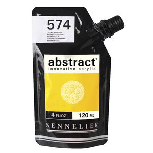 Sennelier Abstract Acrylic 120mL Primary Yellow