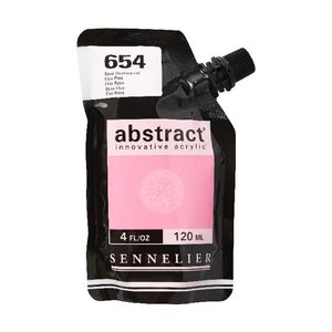 Sennelier Abstract Acrylic Fluorescent Pink 120mL