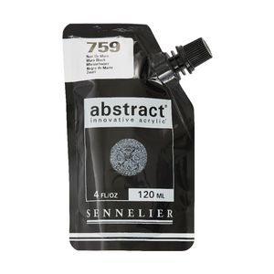 Sennelier Abstract Acrylic Satin Mars Black 120mL
