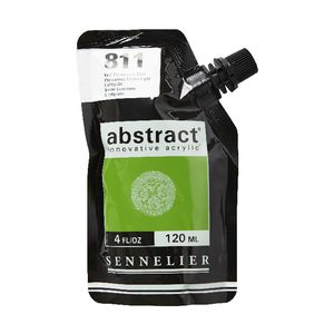 Sennelier Abstract Acrylic Satin Permanent Green Light 120mL