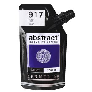 Sennelier Abstract Acrylic Satin Purple 120mL