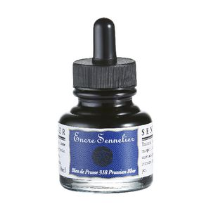 Sennelier Encre Drawing Ink 30mL Prussian Blue