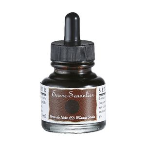 Sennelier Encre Drawing Ink 30mL Walnut Stain