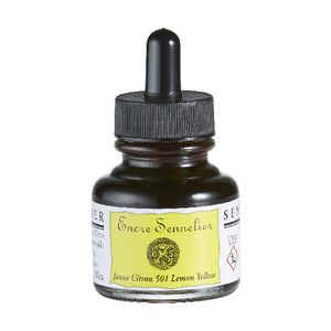 Sennelier Encre Drawing Ink 30mL Lemon Yellow