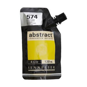 Sennelier Abstract Acrylic High Gloss 120mL Primary Yellow