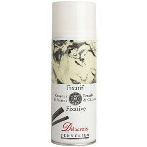 Sennelier Delacroix Aerosol Drawing Fixative 400mL