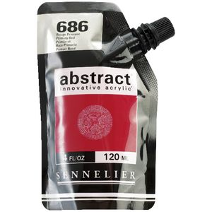 Sennelier Abstract Acrylic High Gloss 120mL Primary Red