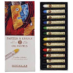 Sennelier Oil Pastel Set of 12 Assorted