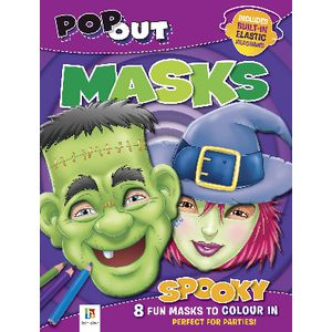 Hinkler Pop Out Masks Spooky