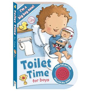 Hinkler Toilet Time for Boys Sound Book