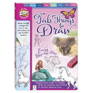 Zap! Fab Things To Draw Book