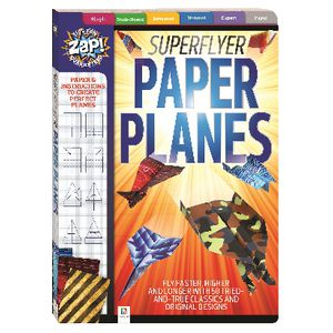 Zap! Superflyer Paper Planes Kit