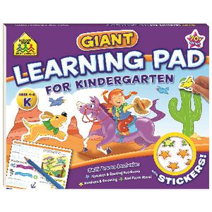 School Zone Giant Learning Pad for Kindergarten