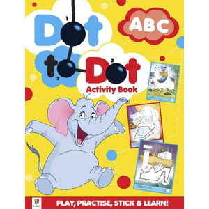Hinkler Dot To Dot ABC Activities Book